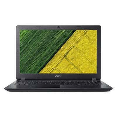 "ACER Aspire A315-51-31FC, 15.6"" HD, i3-7020U23, 4GB DDR4, 500GB HDD, NO ODD, Intel HD Graphics 620, Elinux, fekete"