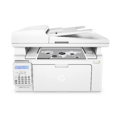HP Lézer MFP NY/M/S/F LJ Pro M130fn, ff, USB/Háló, 256MB, A4 22lap/perc FF, 600x600, Síkágyas, Fax