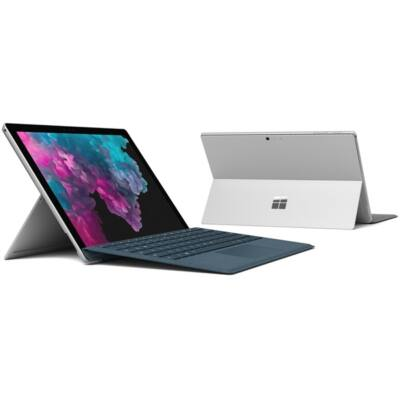 "Microsoft Surface Pro 6 - 12.3"" (2736 x 1824) - Core i7 (8650U, HD 620) - 8GB RAM - 256GB SSD - Windows 10 Pro, Plat"