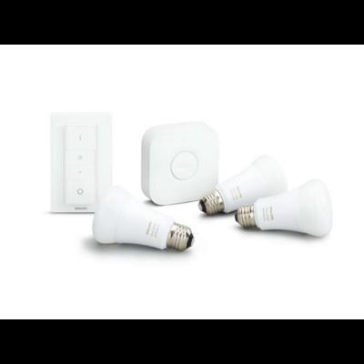 Philips Hue white ambiance 9.5W A60 E27 set EU + switch